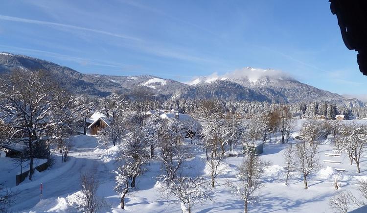 Aussicht 2 Winter. (© Kloibergütl)