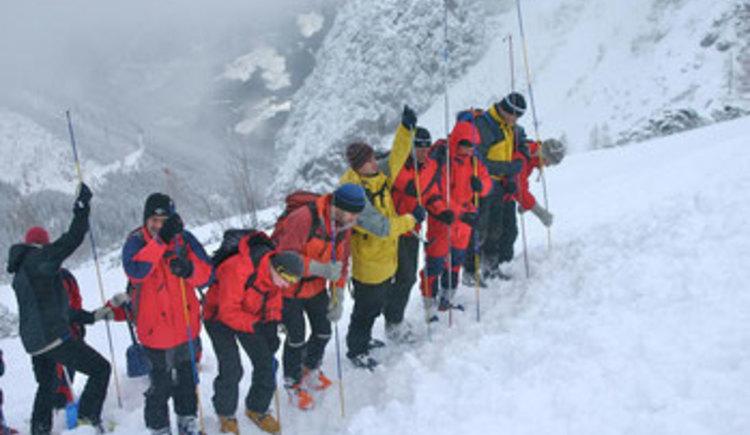 Bergrettung im Winter (© Naturesports)