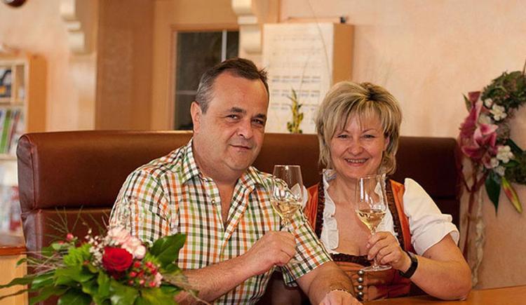 Heidemarie und Hubert Blumauer