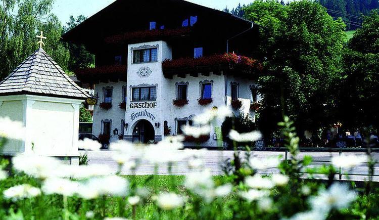 Feriengasthof Grundner im Sommer (© Feriengasthof Grundner)
