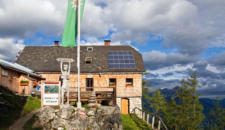 Zellerhütte im Morgenlicht (© TVB Pyhrn-Priel/Sulzbacher)