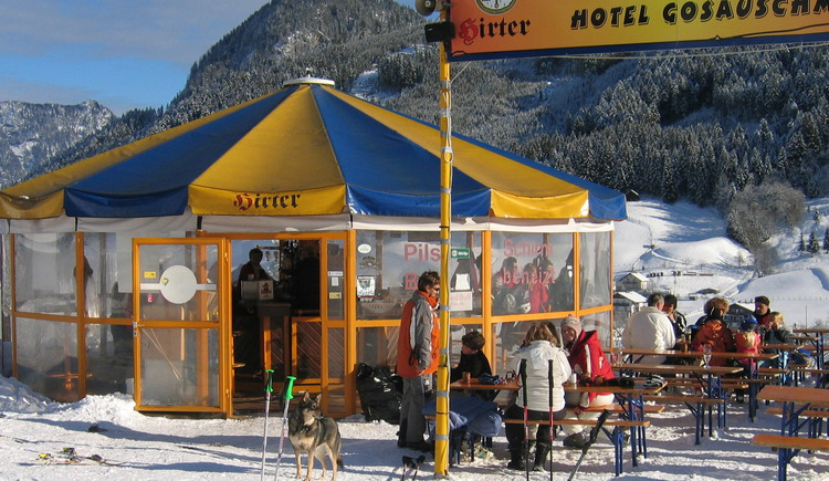 Our Bar at the Hornspitzlift. (© Hotel Gasthof Gosauschmied)