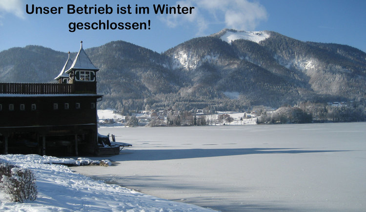 Der Betrieb ist im Winter geschlossen