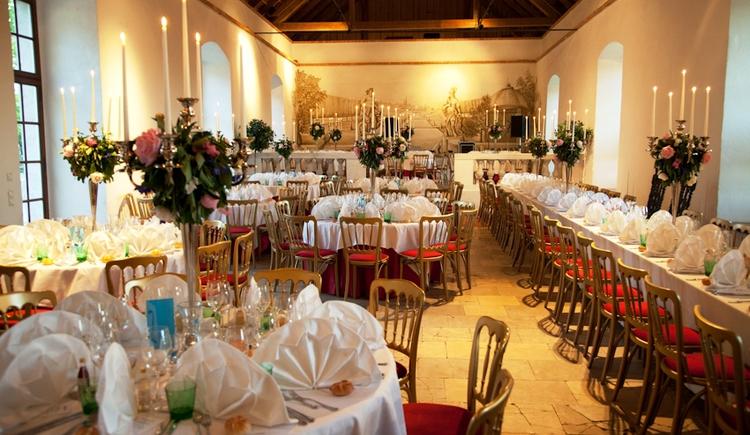 Gartensaal für Hochzeiten (© Salburg)