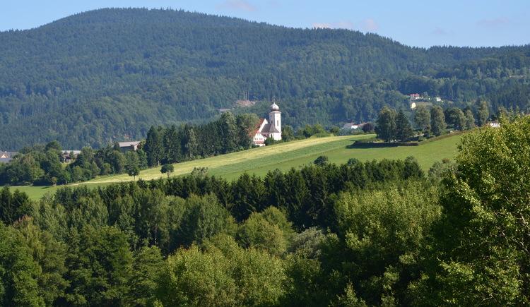 Blick von der Torfau nach Klaffer (© Ferienregion Böhmerwald | Felhofer)