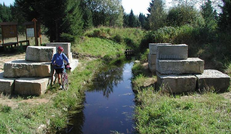Schwarzenberger Schwemmkanal, Böhmerwald (© Ferienregion Böhmerwald)