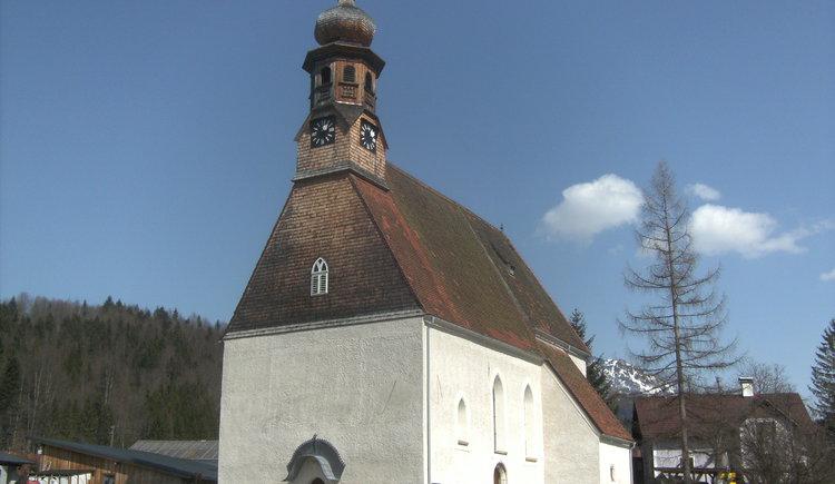 Catholic Church St. Agatha in Bad Goisern am Hallstättersee.