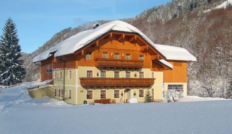 Winter am `Biobauernhof Vorderbärnau`