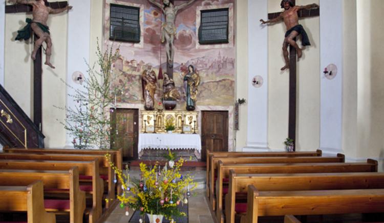 Kalvarienbergkirche, Perg, Oberösterreich, Kirchenraum
