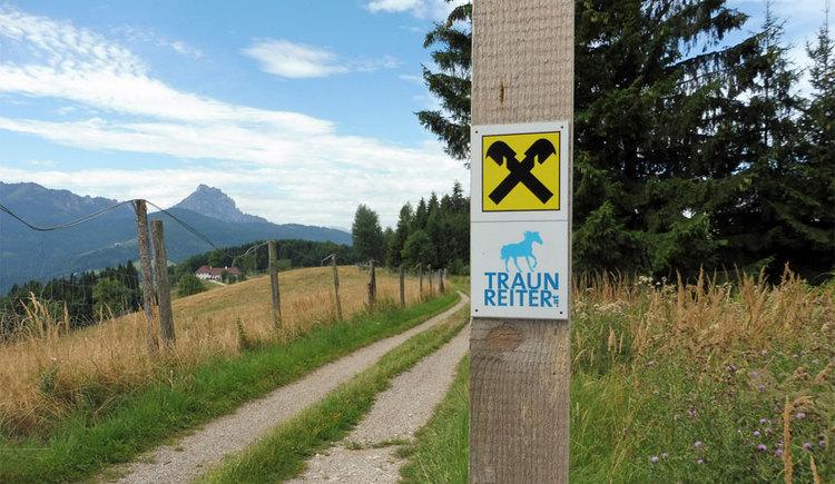 Traunreiter - ein fantastisches Reitwegenetz - Almtalreitweg. (© Tourismusverband Almtal-Salzkammergut)