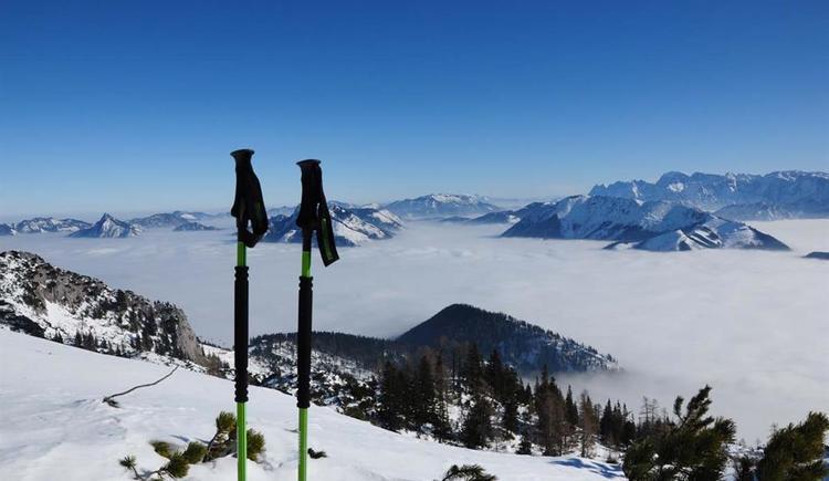 kurze Rast mit Ausblick (© Tourismusbüro Ebensee)