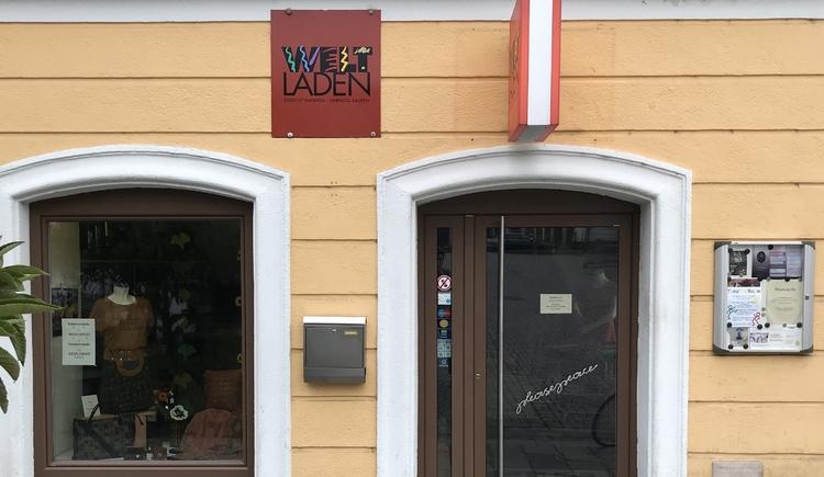 Weltladen Linz Außenansicht