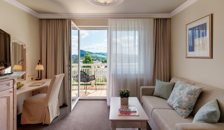 Breitenstein Zimmer (© Hotel Almesberger)