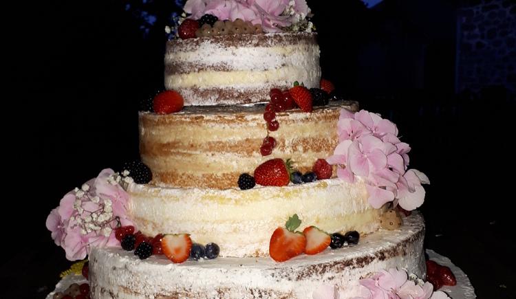 Hochzeitstorte (© Bäckerei Cafe Reisinger)