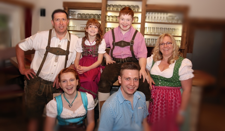 Familie Zaglmayr, Speck o'thek. (© Speck o'thek, Geinberg)