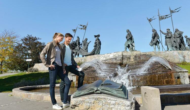 Nibelungenbrunnen, Tulln © Donau Niederösterreich/Steve Haider (© Donau Niederösterreich/Steve Haider / Donau Niederösterreich/Steve Haider)