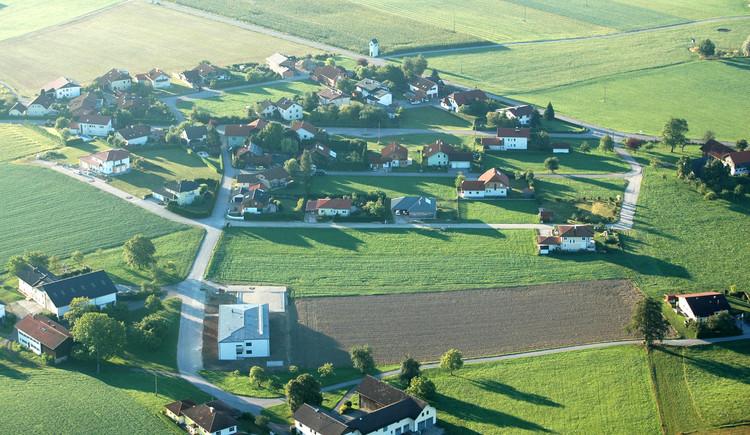Siedlung bis ISG. (© Gemeinde St. Radegund)