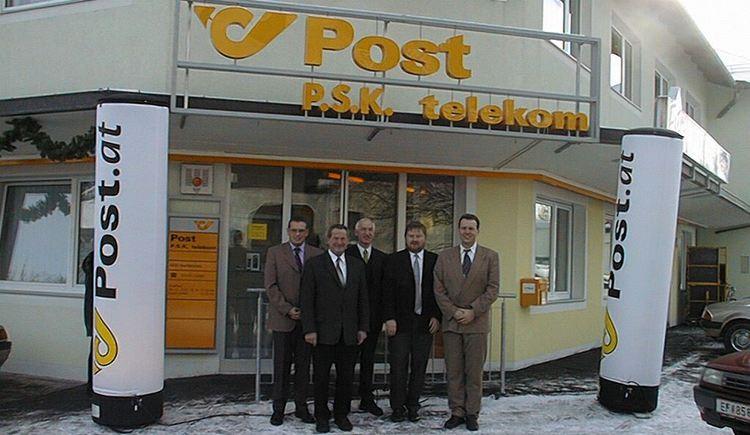 Eröffnung Postamt 2001