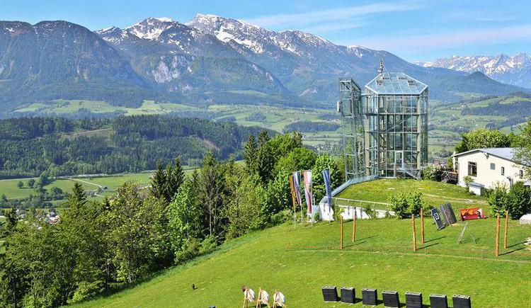 Panoramaturm Wurbauerkogel (© Nationalpark OÖ Kalkalpen)