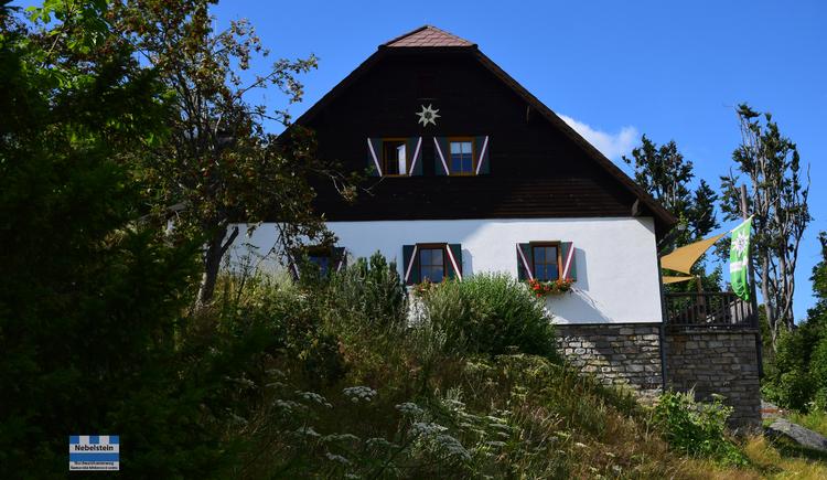 NWKW_Tag06_OeAV_Nebelsteinhuette. (© DI Gerd Simon, Alpenverein Freistadt, Arge Nordwaldkamweg)