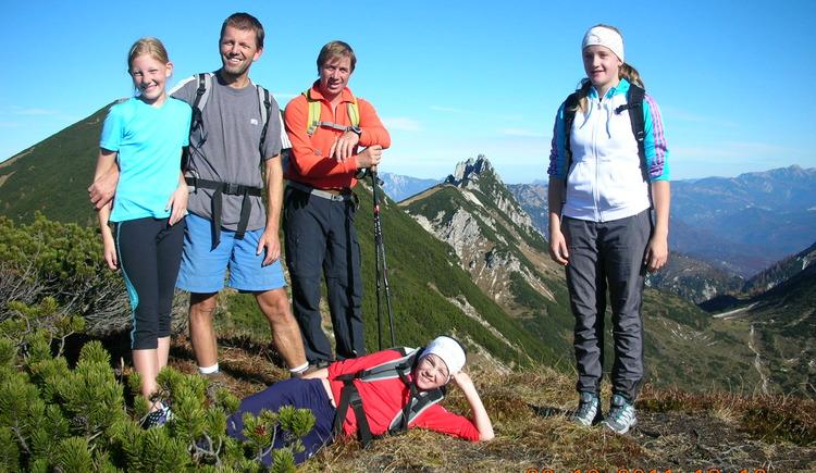 Abstieg über Moosberg. (© Maria Eisl)