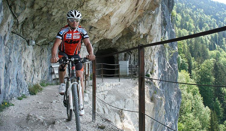 mountain biking Ewige Wand