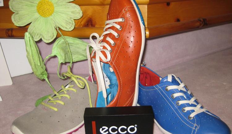 Ecco Schuhe beim Breiteneder in Strobl (© Christian Breiteneder)
