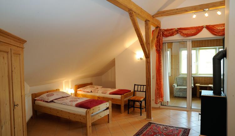 Appartements Hartinger Altheim Schlafzimmer. (© Innviertel Tourismus)