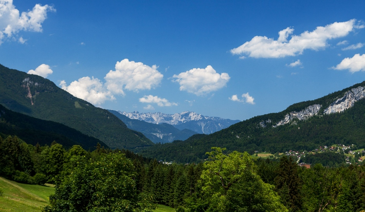 From the Alpenhotel Dachstein you can enjoy a breathtaking view of the surrounding mountains