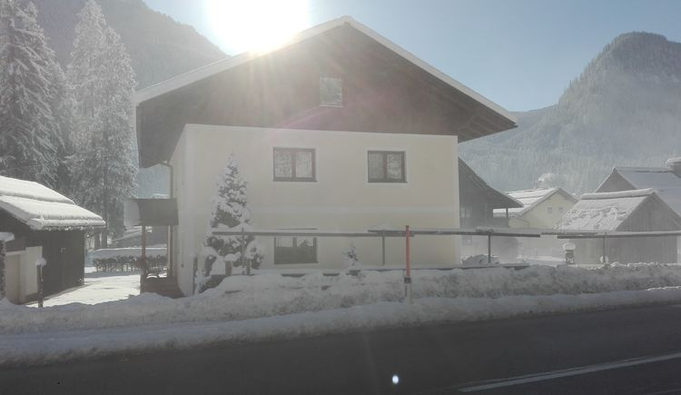 Outside view in winter