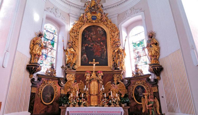 Pfarrkirche Altmünster Altar
