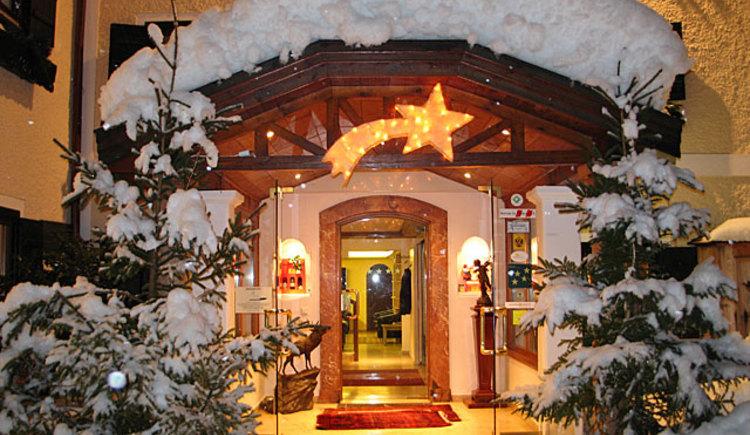 Winter im Hotel Stroblerhof am Wolfgangsee. (© Stroblerhof)
