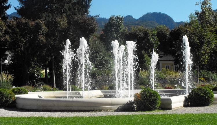 Entspannen Sie sich in der Schönheit und Ruhe der Kurpark Bad Ischl\n\n