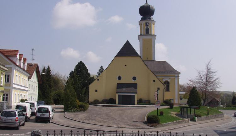 Aurolzmünster - Kirche 2 (© TTG Tourismus Technologie)