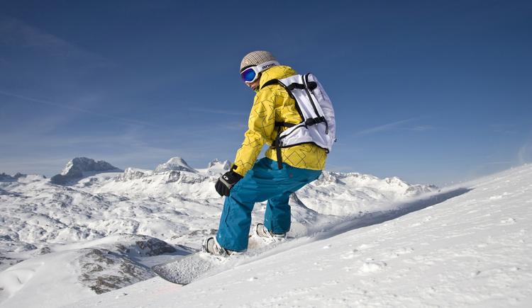 Umgebung, Snowboarden, Krippenstein (© TVB)