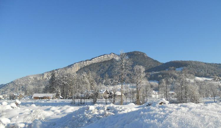 Tolle Aussichten gibt es im Haus Winkler auf Bad Goisern und die Berglandschaft des Salzkammerguts zu entdecken.