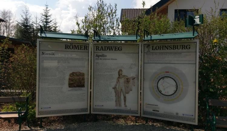 Roemerradweg Rastplatz Lohnsburg (© ©Innviertel Tourismus/Marschall)