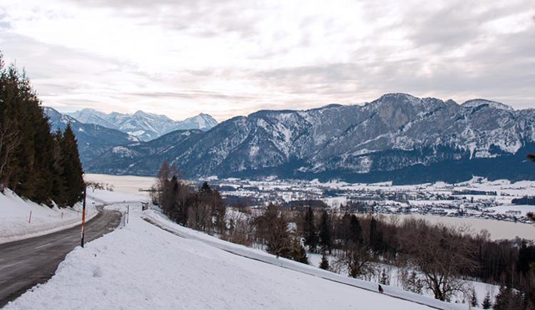 Winter am Mondseeberg (© TVB Mondsee-Irrsee)