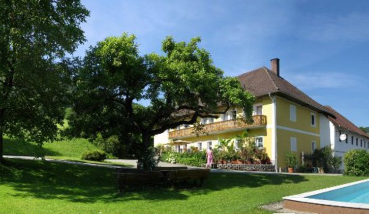 Aussenansicht Ferienhof Am Landsberg