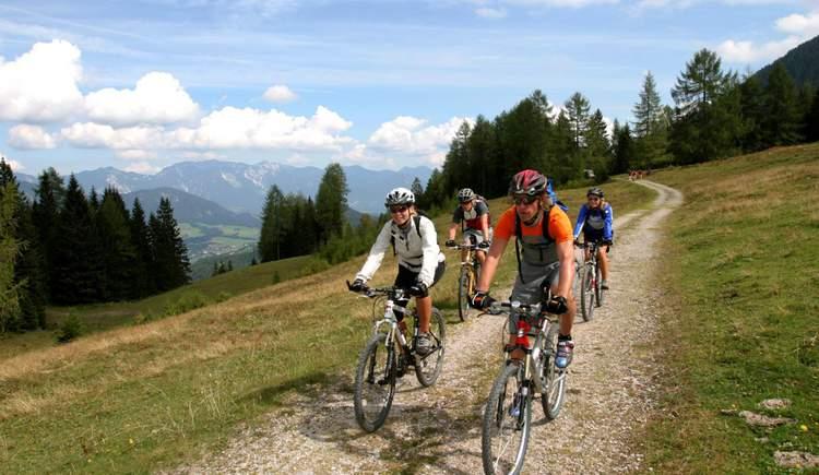 Mountainbiker (© Pyhrn-Priel Tourismus GmbH/Hubert Hager)