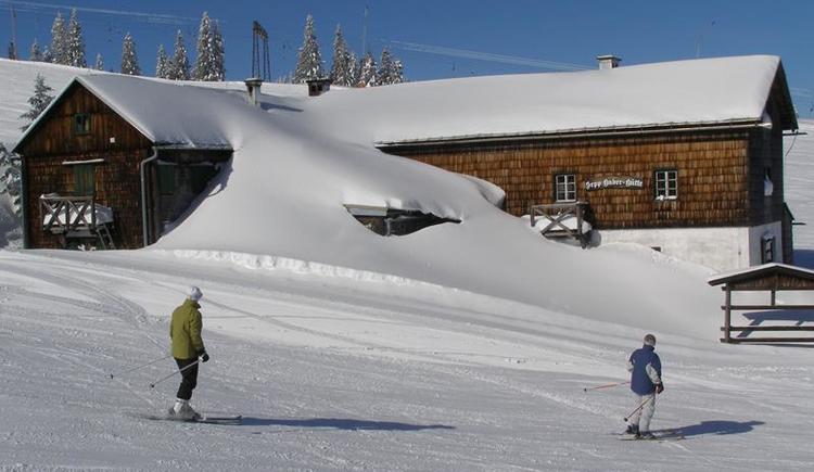 Sepp Huber Hütte Winter