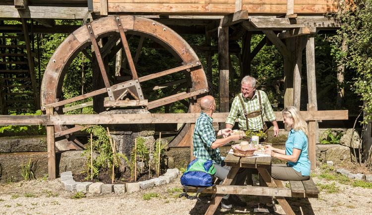 Stillensteinklamm, Gießenbachmühle Gemeinde St. Nikola an der Donau Willi´s Mühlenjause