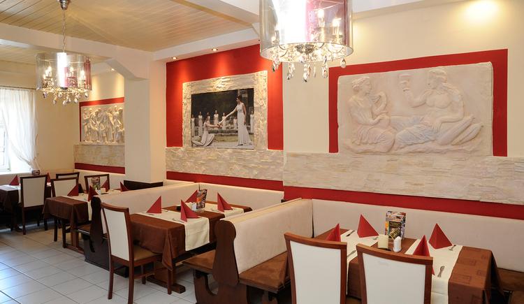 Restaurant Olympia, Obernberg, Innenansicht. (© Innviertel-Tourismus)