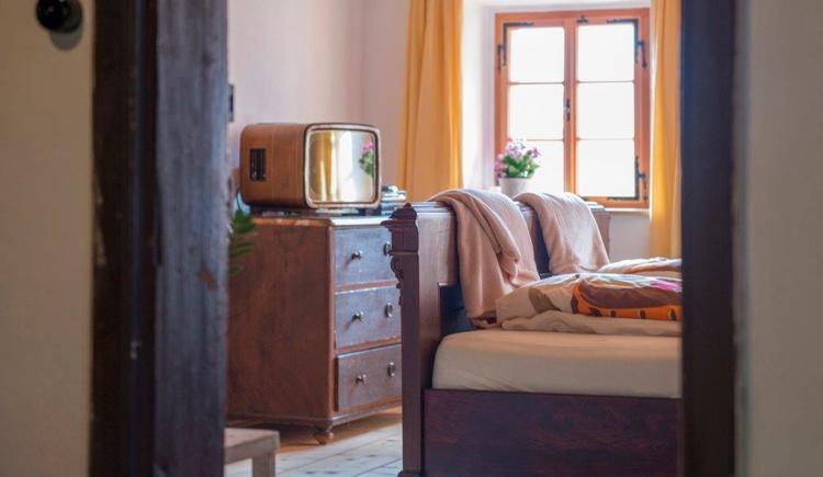Schlafzimmer im Appartement. (© Michaela Tucek)