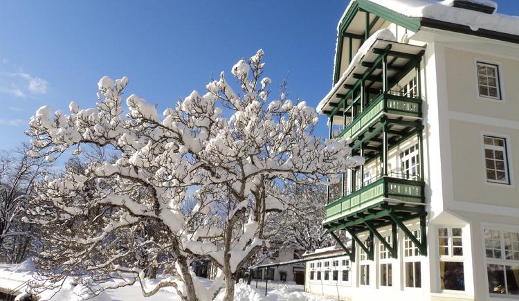Gasthof Hotel Fürberg, Winteransicht