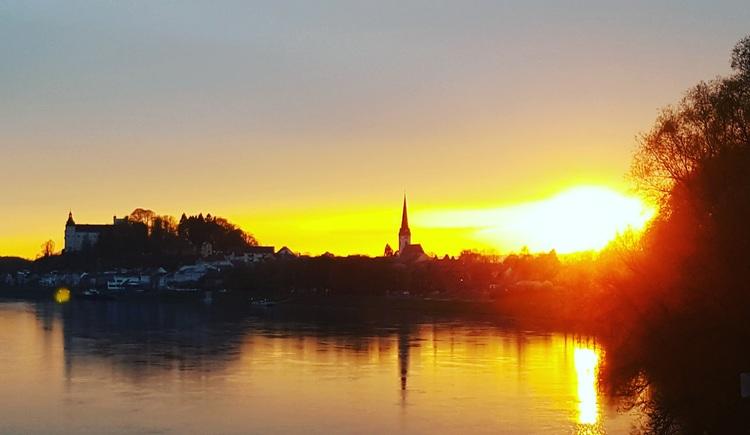 vielleicht der schönste Ort für Sonnenuntergänge rund um Ottensheim