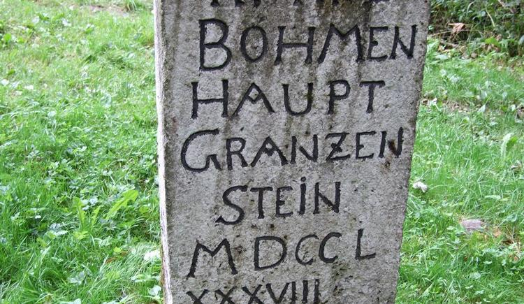 Hauptgrenzstein (© Privat)