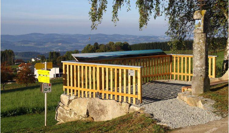 Aussichtsplattform mit Panoramatafel (© WBC Rauchenödt)