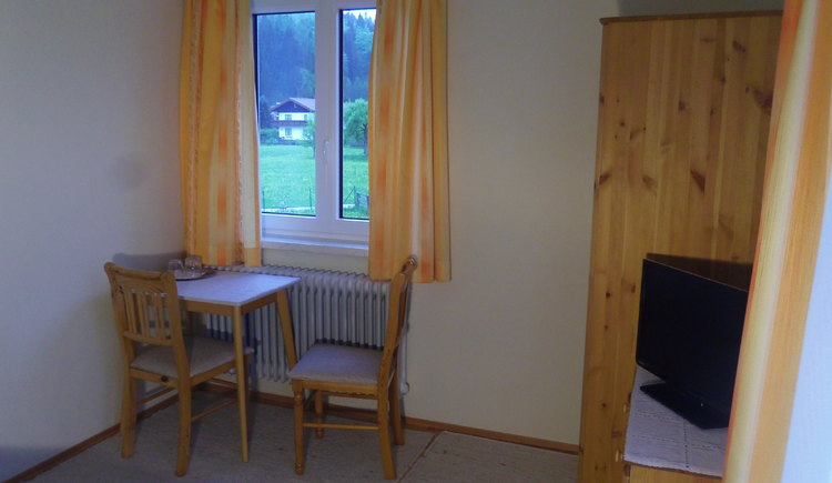 Sitzecke Doppelzimmer