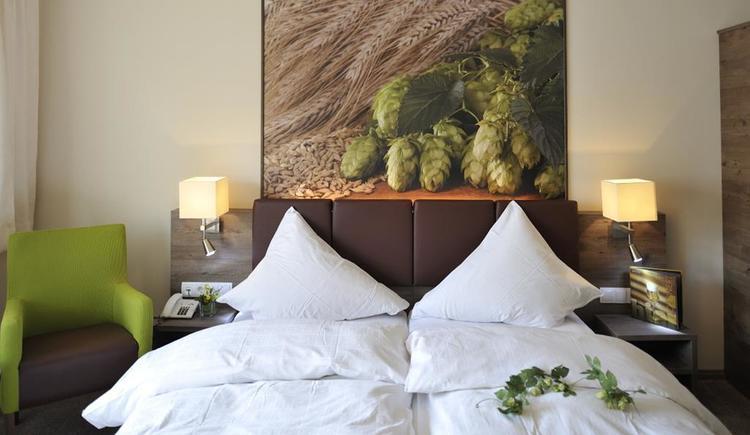 Zauberhafte Doppelbettzimmer (© Biergasthaus Schiffner)